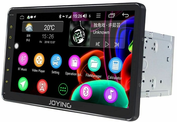 Joying universal device with SIM slot, 4G receiver and 7 inch display -